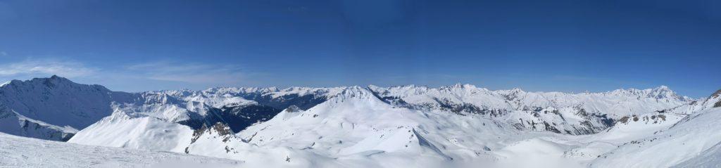 Panorama au Grand Col